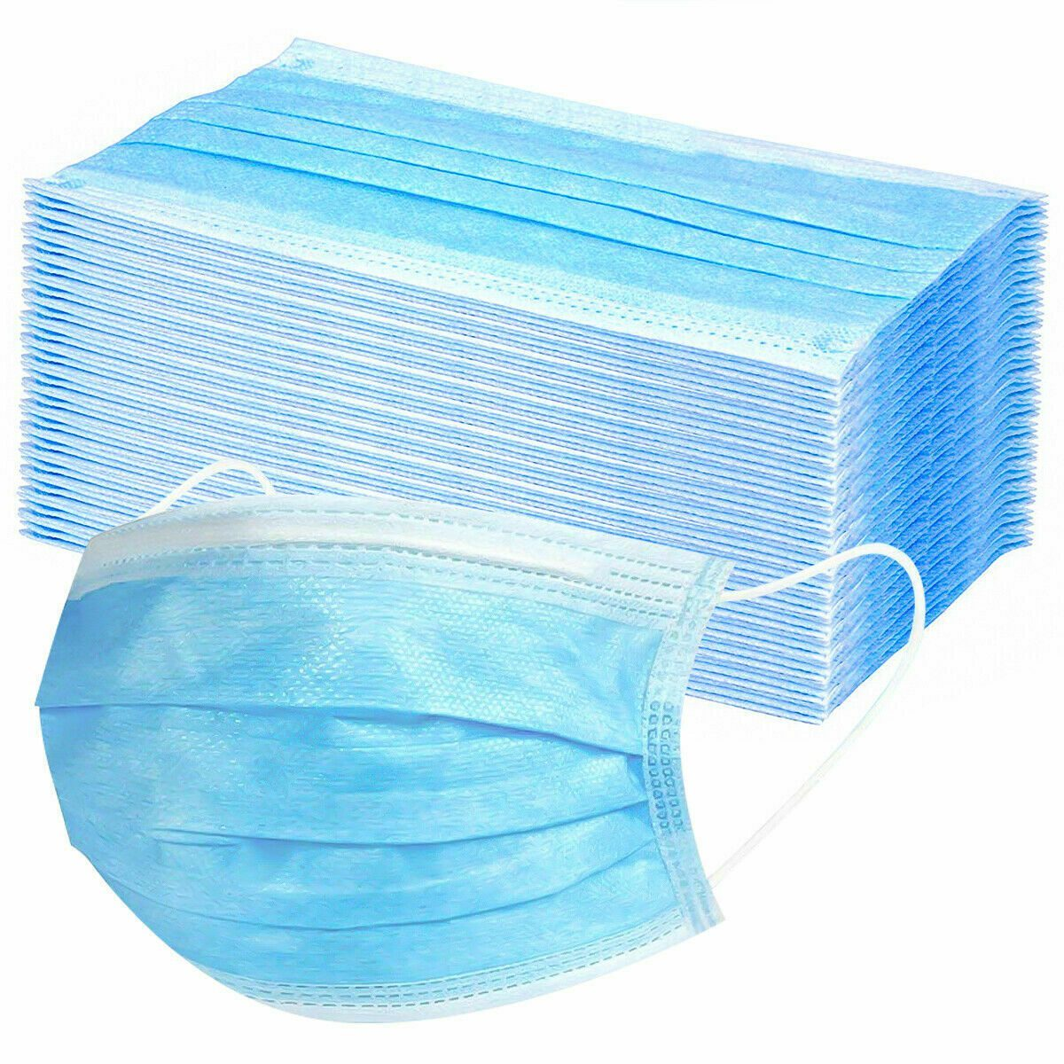 Disposable Face Mask Anti Flu Dust 3 Layer Masks Protective medical