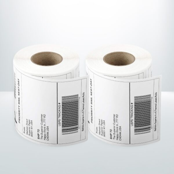 12 Rolls Direct Thermal Address Shipping Label
